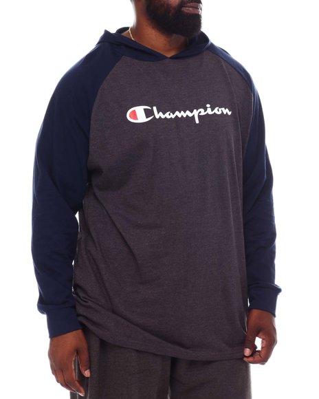 Champion - Rag HD Script Long Sleeve Hoodie (B&T)