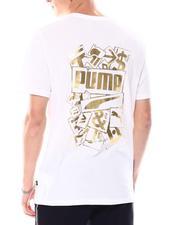 Puma - Gold Foil Logo Tee-2556972