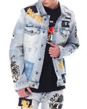 Denim Jackets - Royal Embellishment Jean Jacket-2558203