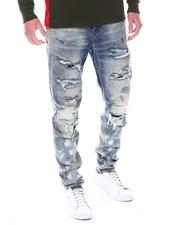 Kloud 9 - Stretch DENIM W/MULTI RIPS-2558294