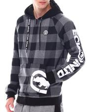 Men - CHECKED OUT FZ HOODIE-2558932