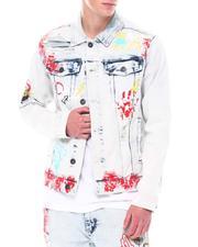 Denim Jackets - DENIM JACKET W/ ANGEL PATCH-2558719