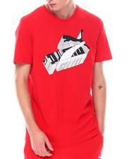Puma - Sneaker Block Logo Tee-2557027