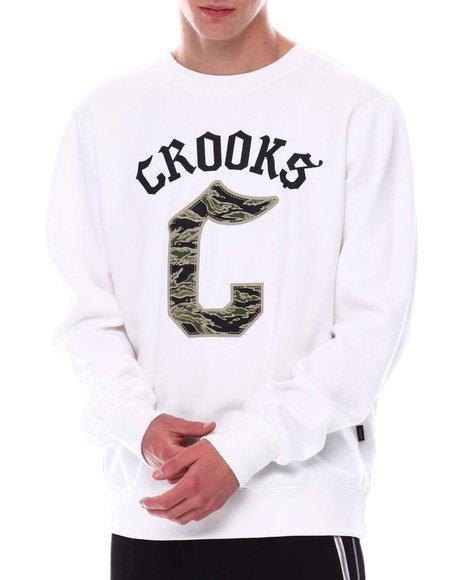 Crooks & Castles - Gothic Logo LS Crew