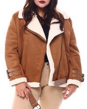 Plus Size - Plus Biker Jacket-2556076