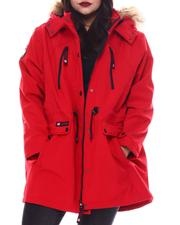 Plus Size - Plus Soft Woven Jacket-2556128