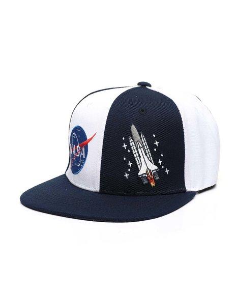 Arcade Styles - NASA Split Rocket Snapback Hat