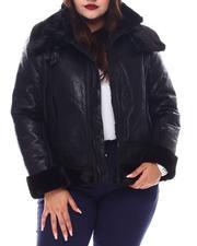 Heavy Coats - Plus Biker Jacket-2556094