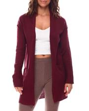 Sweaters - Cardigan With Front Pockets-2559616