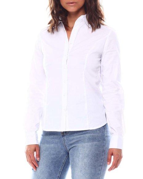 Fashion Lab - Long Sleeve Button Down Casual Shirt