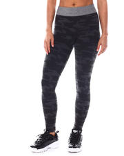 Athleisure - Fleece Lining Legging With Lurex Waist Band-2559491