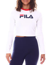 Tops - Jaya Long Sleeve Crop Tee-2559541