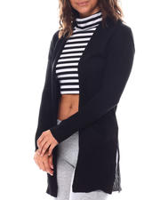 Sweaters - Cardigan With Front Pockets-2559626