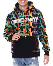Create 2MRW - FLEECE HOODY ALL OVER LOGO Hoodie-2559904