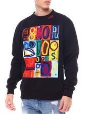 Buyers Picks - Abstract Art Crewneck Sweatshirt-2559981