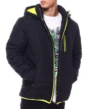 Outerwear - BUBBLE BOMBER JACKET WITH CONTRAST TRIM-2560016