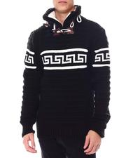 Buyers Picks - Greek Key Toggle Neck Sweater-2560117