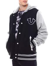Outerwear - HOODED VARSITY JACKET-2557315