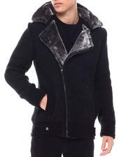 Buyers Picks - Moto Knit Jacket w Faux Fur-2560193