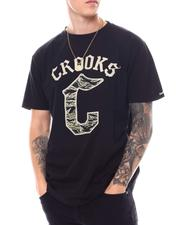 Crooks & Castles - Gothic SS Logo Tee-2557135