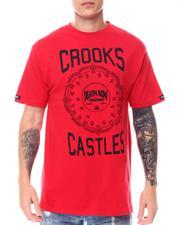 Crooks & Castles - STEREO PAISLEY Tee-2557146