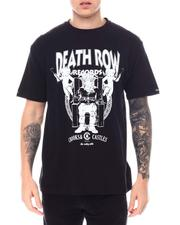 Crooks & Castles - Crooks X Death Row Core Logo Tee-2557170