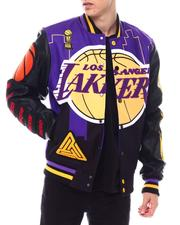 Heavy Coats - BP X PRO Standard Lakers Logo Jacket-2559885
