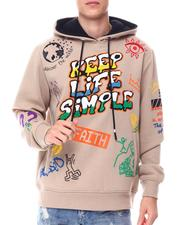 Hoodies - KEEP LIFE SIMPLE HOODIE-2559962