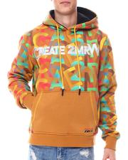 Hoodies - FLEECE HOODY ALL OVER LOGO Hoodie-2559917