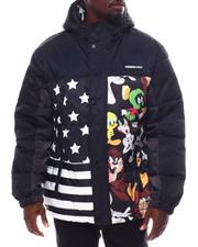 Men - Members Only X Looney Tunes - Mashup Block Puffer-2561834
