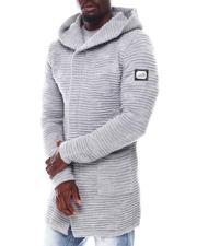 Stylist Picks - Ribbed Long sweater jacket-2562065