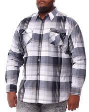 Button-downs - Yarn Dyed Plaid Woven Shirt (B&T)-2555983