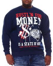 Sweatshirts & Sweaters - Hustlin State Of Mind Sweatshirt (B&T)-2561004