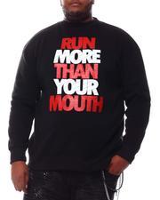 Sweatshirts & Sweaters - Run More Than Your Mouth Sweatshirt (B&T)-2561096