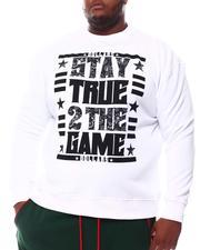 Sweatshirts & Sweaters - True To The Game Sweatshirt (B&T)-2561123