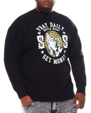 Men - Pray Hustle Money Sweatshirt (B&T)-2561174