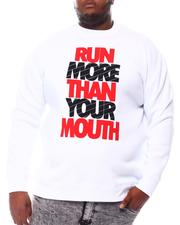 Big & Tall Faves - Run More Than Your Mouth Sweatshirt (B&T)-2561202
