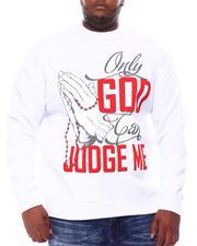 Sweatshirts & Sweaters - Only God Can Judge Me Sweatshirt (B&T)-2561325