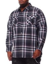 Button-downs - Yarn Dyed Plaid Woven Shirt (B&T)-2551980