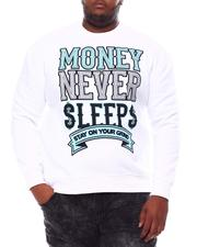 Sweatshirts & Sweaters - Money Never Sleep Sweatshirt (B&T)-2560972