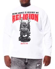 Sweatshirts & Sweaters - Being Broke Is Against My Religion Sweatshirt (B&T)-2561018