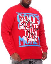 Sweatshirts & Sweaters - God's Greater Than Money Sweatshirt (B&T)-2561022