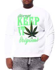 Sweatshirts & Sweaters - Keep It Original Weed Sweatshirt (B&T)-2561127