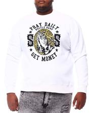 Sweatshirts & Sweaters - Pray Hustle Money Sweatshirt (B&T)-2561218