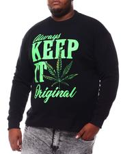 Sweatshirts & Sweaters - Keep It Original Weed Sweatshirt (B&T)-2561304