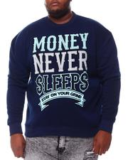 Sweatshirts & Sweaters - Money Never Sleep Sweatshirt (B&T)-2561026