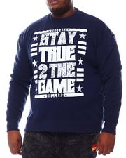 Sweatshirts & Sweaters - True To The Game Sweatshirt (B&T)-2561035