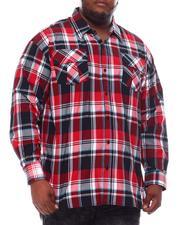 Button-downs - Yarn Dyed Plaid Woven Shirt (B&T)-2561568