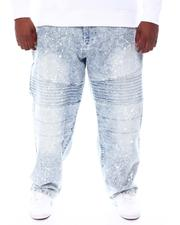 Akademiks - Moto Denim Jeans With Splatter Paint (B&T)-2561532