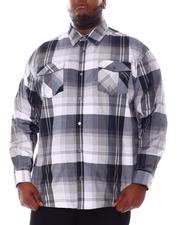 Men - Plaid Woven L/S Shirt (B&T)-2561614